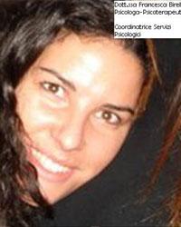 Foto della Dr.ssa Francesca Birello