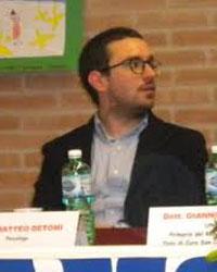 Foto del Dr. Matteo De Tomi