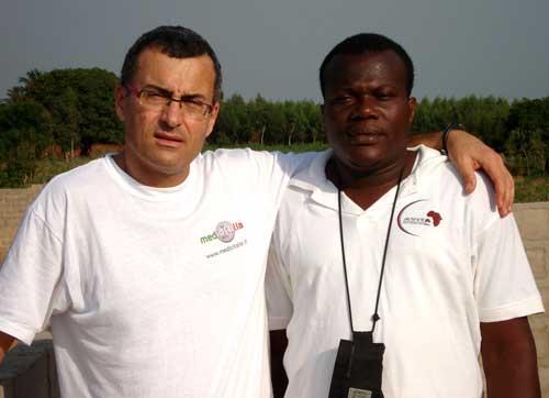 Un medico di medicitalia in Togo