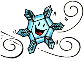 gelo fiocco di neve