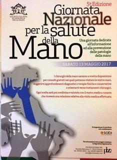 giornata nazionale per la salute della mano
