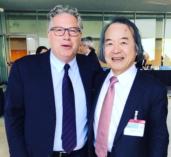 Prof. Luigi Marino e Prof. Shigeru Kinoshita