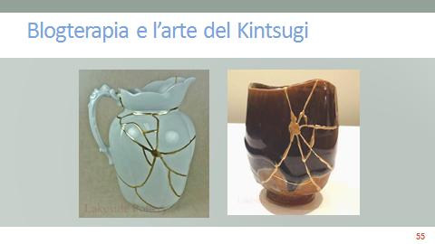 Blogterapia e l'arte del kintsugi