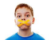 i bambini abusati non riferiscono a casa