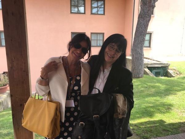 Valeria Randone e la Falcetti